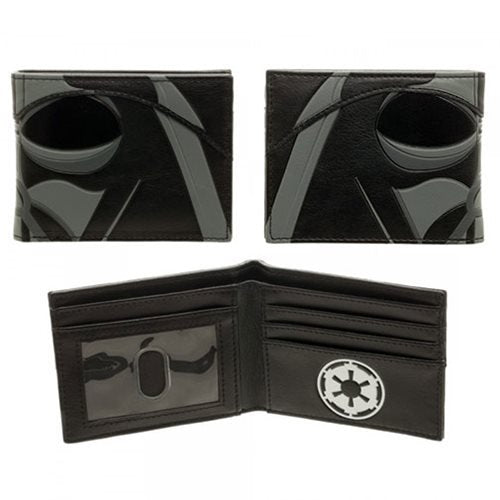 Star Wars Vader Helmet Bi-Fold Wallet - Official  :: Mental XS Online