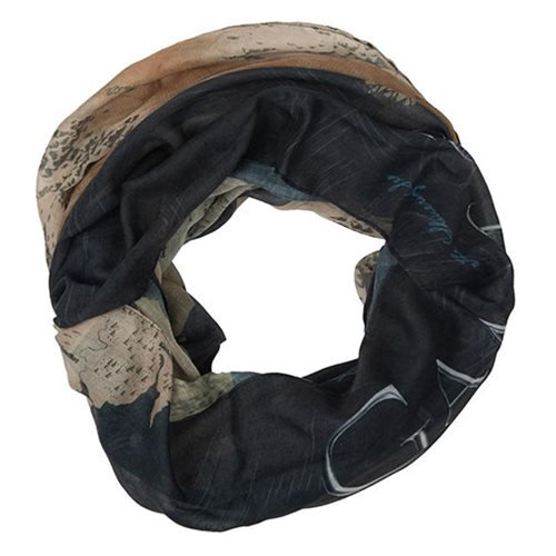 Game of Thrones Westeros Map Infinity Scarf - Official Bioworld :: Mental XS Online