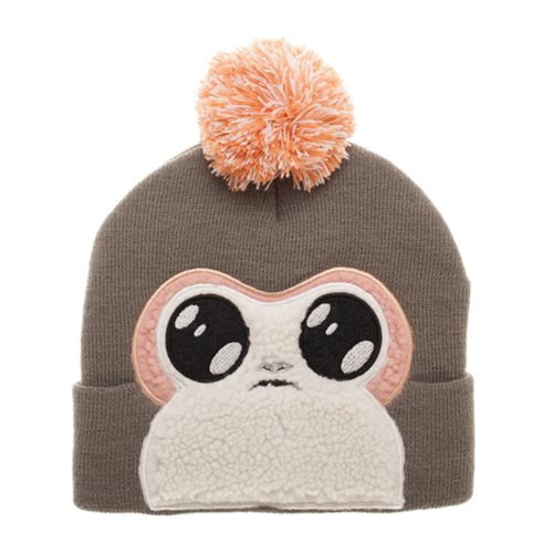 Star Wars Episode VIII: The Last Jedi Porg Bigface Pom Beanie - Official Unisex :: Mental XS Online