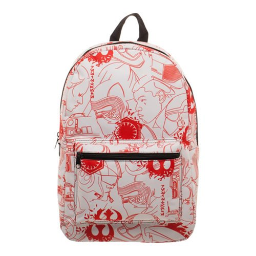 Star Wars Episode VIII: The Last Jedi Salt Planet Backpack - Official Unisex :: Mental XS Online