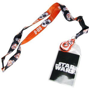 Star Wars Episode VIII: The Force Awakens BB-8 Lanyard - Official Unisex :: Mental XS Online