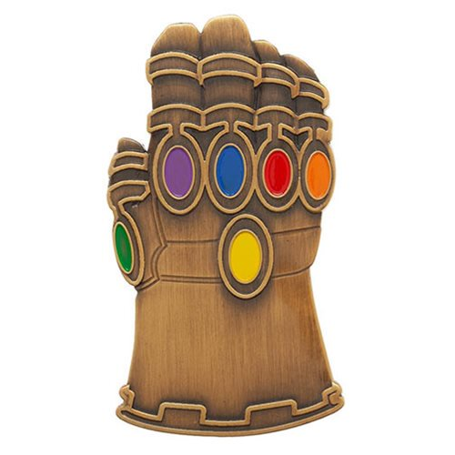 Marvel Comics Avengers: Endgame Gauntlet Lapel Pin - Official Unisex :: Mental XS Online