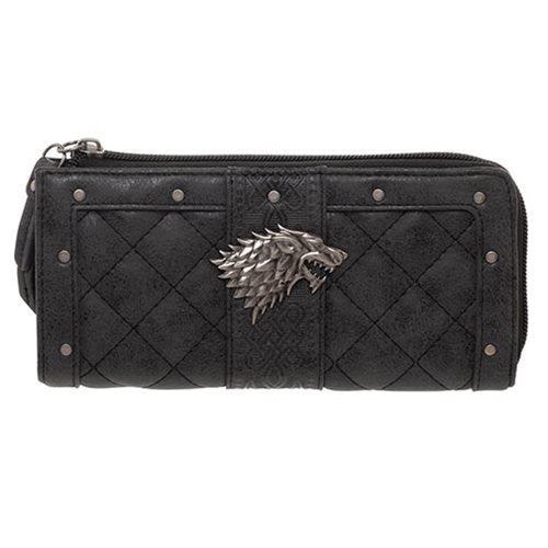 Game of Thrones Stark L-Zip Wallet - Official Bioworld :: Mental XS Online
