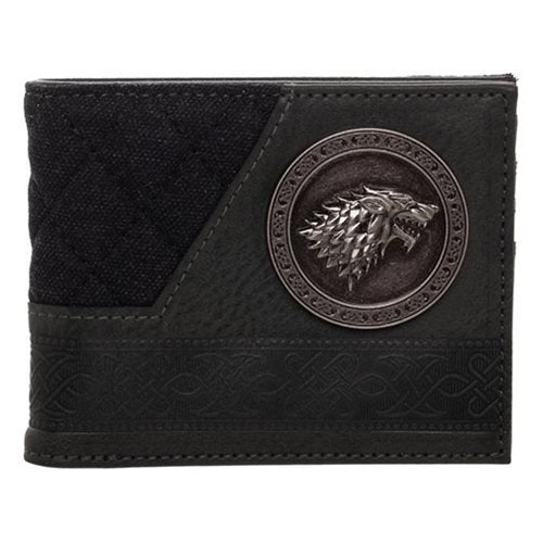 Game of Thrones House Stark Bifold Wallet - Official Bioworld :: Mental XS Online