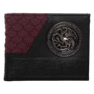 Game of Thrones Targaryen Bifold Wallet - Official Bioworld :: Mental XS Online