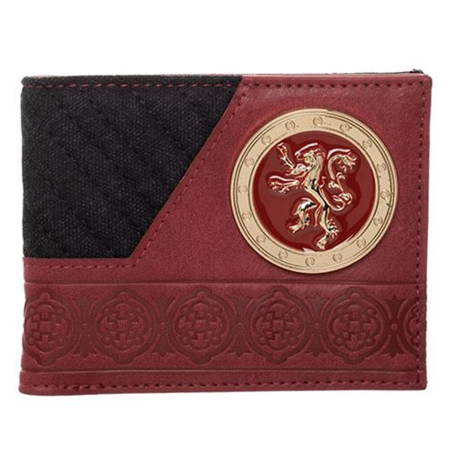 Game of Thrones House Lannister Bifold Wallet - Official Bioworld :: Mental XS Online