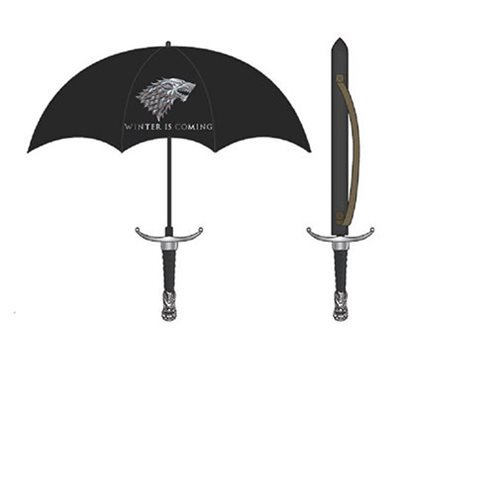 Game of Thrones Stark Molded Handle Umbrella - Official Bioworld :: Mental XS Online