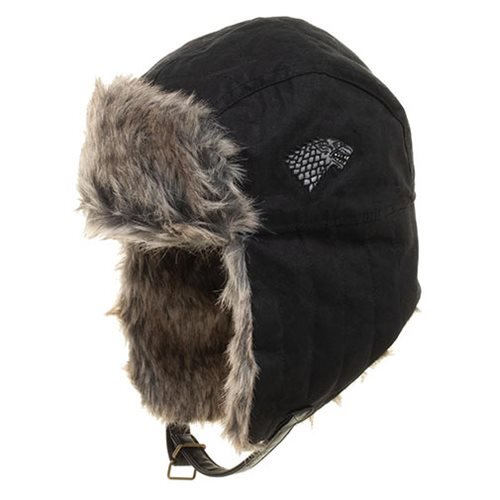 Game of Thrones Stark Faux Fur Trapper Hat - Official Bioworld :: Mental XS Online