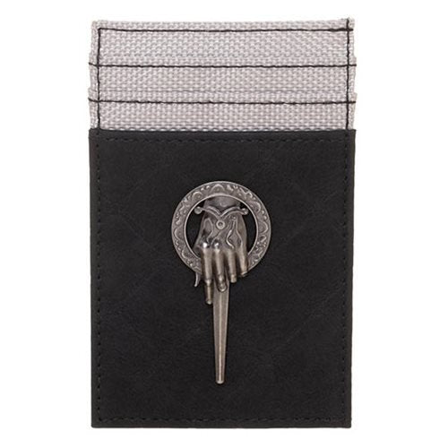 Game of Thrones Hand of the King Front Pocket Card Wallet - Official Bioworld :: Mental XS Online