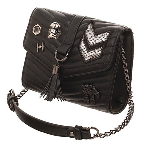 Star Wars: The Last Jedi Dark Side Quilted Crossbody Purse - Official Female :: Mental XS Online