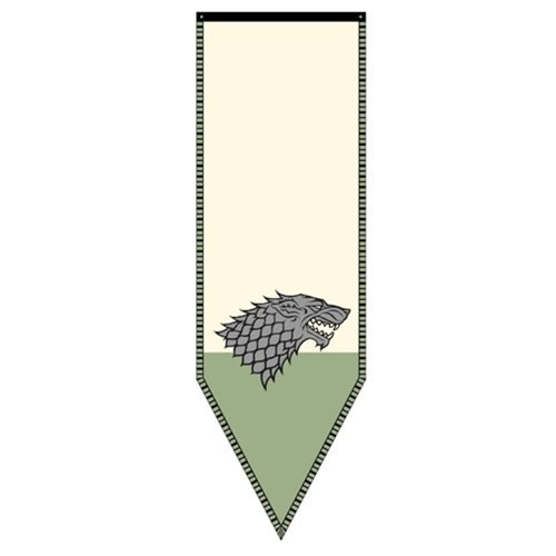 Game of Thrones Stark Winterfell Banner - Official Calhoun Sportswear :: Mental XS Online