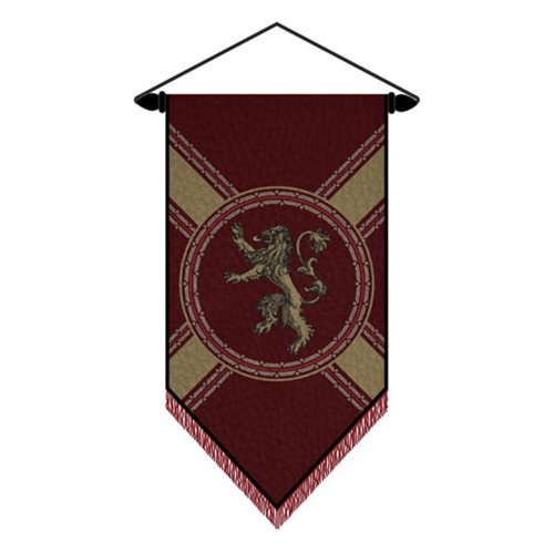 Game of Thrones Lannister Wall Scroll - Official Calhoun Sportswear :: Mental XS Online