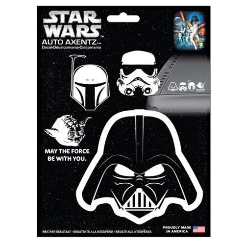 Star Wars Heads Family Decal Kit - Official Unisex :: Mental XS Online