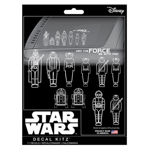 Star Wars Family Decal Kit - Official Unisex :: Mental XS Online