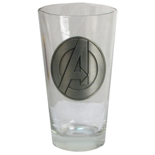 Avengers Symbol Pint Glass - Official Male :: Mental XS Online
