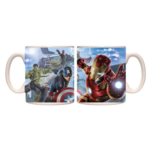 Avengers: Age of Ultron Avengers in Action Mug - Official Unisex :: Mental XS Online