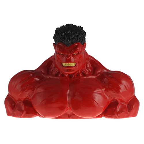 Marvel Comics Red Hulk Resin Coin Bank - Official Surreal Entertainment :: Mental XS Online