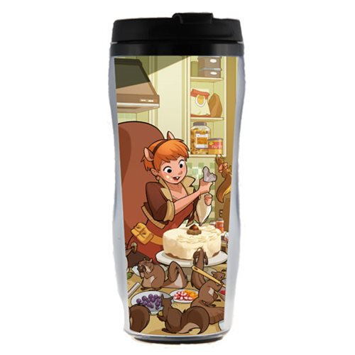 Marvel Comics Squirrel Girl Plastic Travel Mug - Official Surreal Entertainment :: Mental XS Online