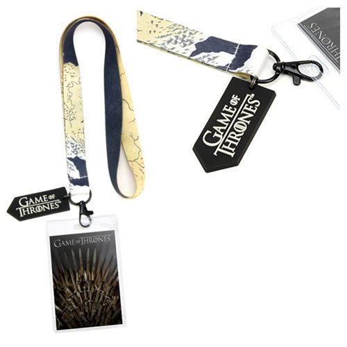 Game of Thrones Iron Throne Lanyard - Official The Coop :: Mental XS Online