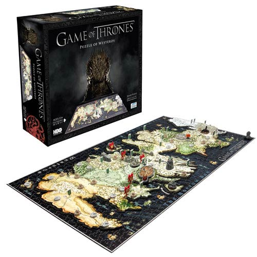 Game of Thrones Guide to Westeros 4D Cityscape Puzzle - Official 4d Cityscape :: Mental XS Online