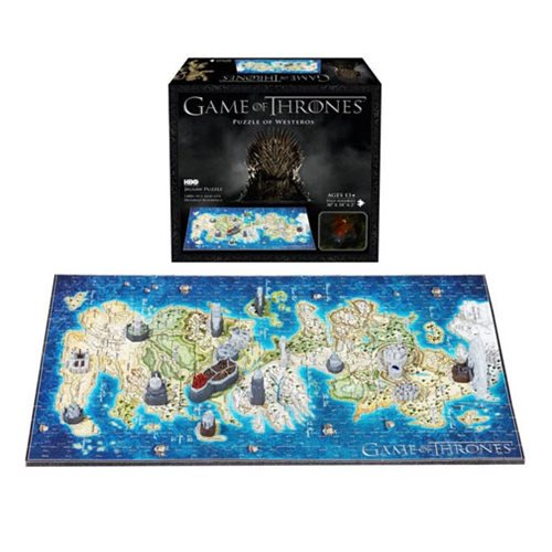 Game of Thrones Westeros Mini 4D Puzzle - Official 4d Cityscape :: Mental XS Online