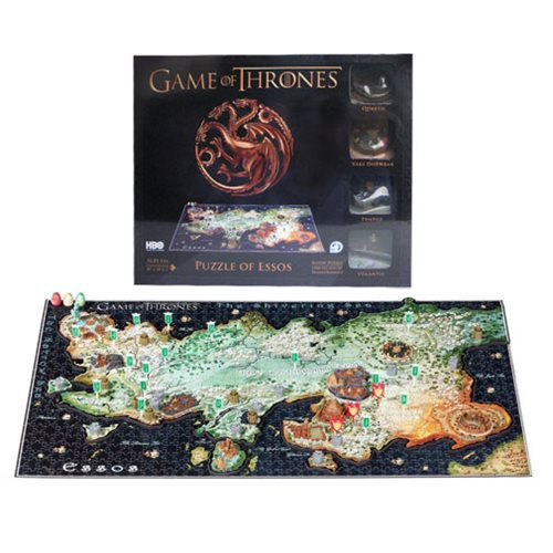 Game of Thrones Essos 4D Cityscape Puzzle - Official 4d Cityscape :: Mental XS Online