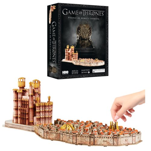 Game of Thrones King's Landing 4D Cityscape Puzzle - Official 4d Cityscape :: Mental XS Online