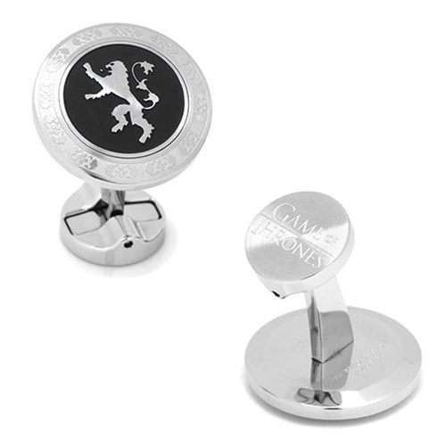 Game of Thrones Lannister Filigree Stainless Steel Cufflinks - Official Cufflinks Inc :: Mental XS Online