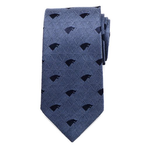 Game of Thrones Stark Geometric Sword Blue Men's Tie - Official Cufflinks Inc :: Mental XS Online