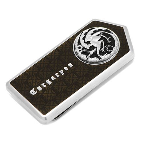Game of Thrones Targaryen Filigree Money Clip - Official Cufflinks Inc :: Mental XS Online