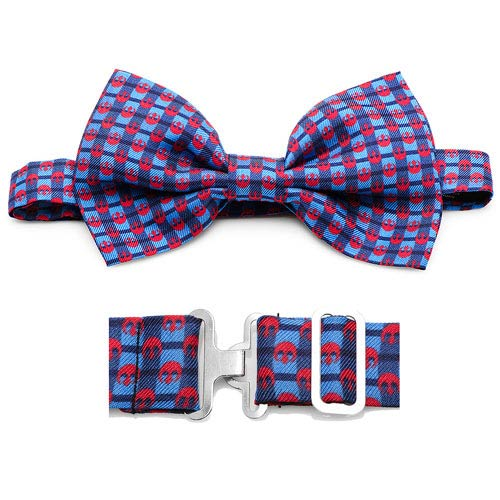 Star Wars Rebel Alliance Navy Plaid Italian Silk Bowtie - Official Cufflinks Inc :: Mental XS Online