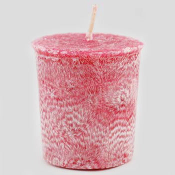Pink Jasmine Palm Oil Votive Candle