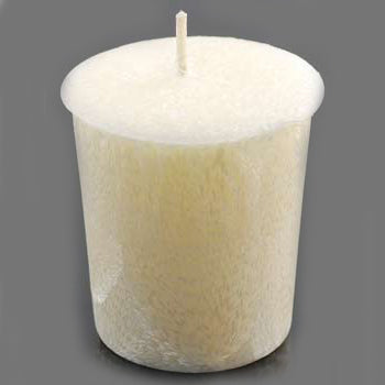 Cream Nag Champa Palm Oil Votive Candle