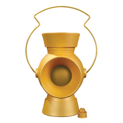 Green Lantern 1:1 Scale Yellow Power Battery and Ring Prop Replica - Official DC Collectibles :: Mental XS Online