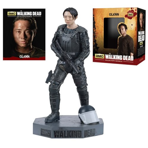 The Walking Dead Glenn Figure with Collector Magazine #7 - Official Eaglemoss Publications :: Mental XS Online