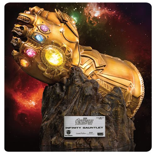 Marvel Comics Avengers: Infinity War Infinity Gauntlet MC-004 Statue - Previews Exclusive - Official Beast Kingdom :: Mental XS Online