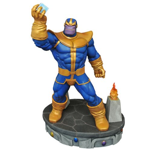 Marvel Comics Premier Collection Thanos Polyresin Statue 12