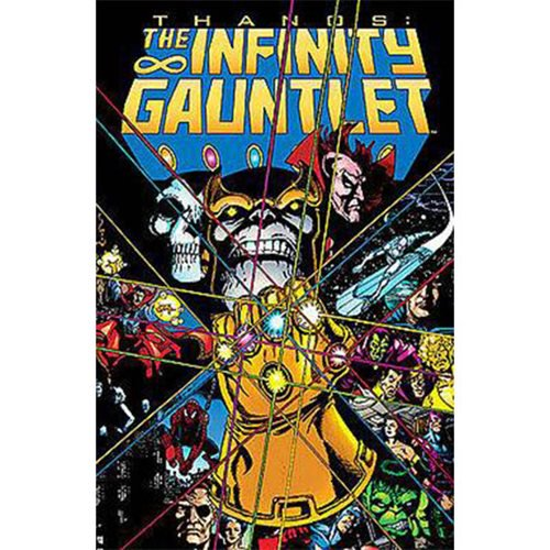 Marvel Comics Infinity Gauntlet Trade Paperback Book - Official Marvel :: Mental XS Online