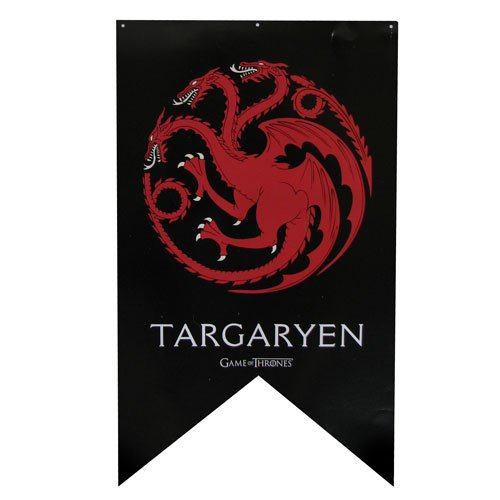 Game of Thrones Targaryen Sigil Banner - Official Calhoun Sportswear :: Mental XS Online