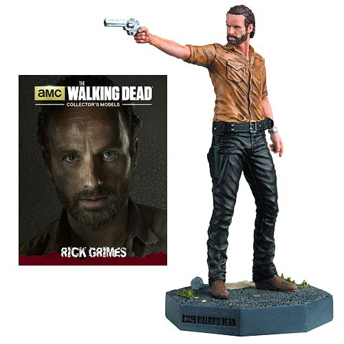 The Walking Dead Rick Grimes Figure with Collector Magazine #1 - Official Eaglemoss Publications :: Mental XS Online