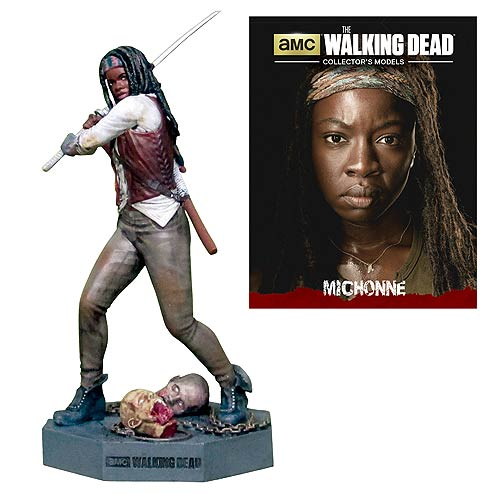 The Walking Dead Michonne Figure with Collector Magazine #3 - Official Eaglemoss Publications :: Mental XS Online