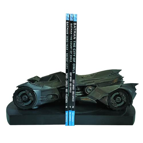 DC Comics - Batman Arkham Knight Batmobile Statue Bookends - Official Icon Heroes :: Mental XS Online