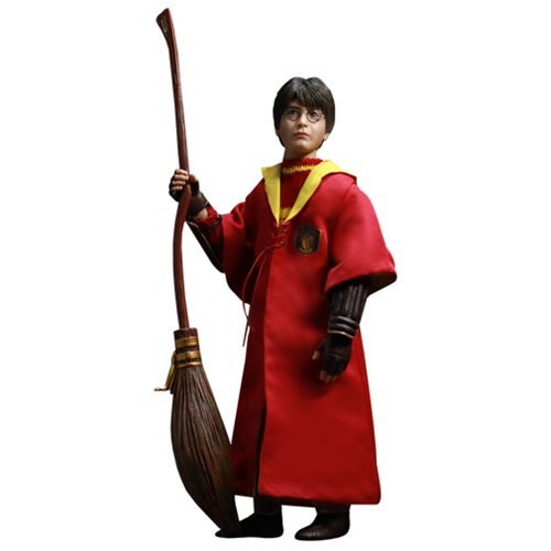 Harry Potter 2: The Chamber of Secrets Quidditch Harry 1:6 Scale Action Figure - Official Star Ace :: Mental XS Online