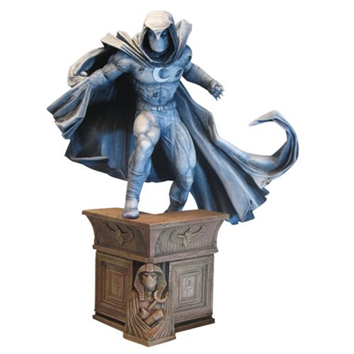 Marvel Comics Premier Collection Moon Knight Resin Statue 12