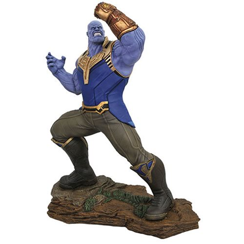 Marvel Milestones Avengers: Infinity War Thanos Statue by Joe Allard and Jorge Santos Souza 20
