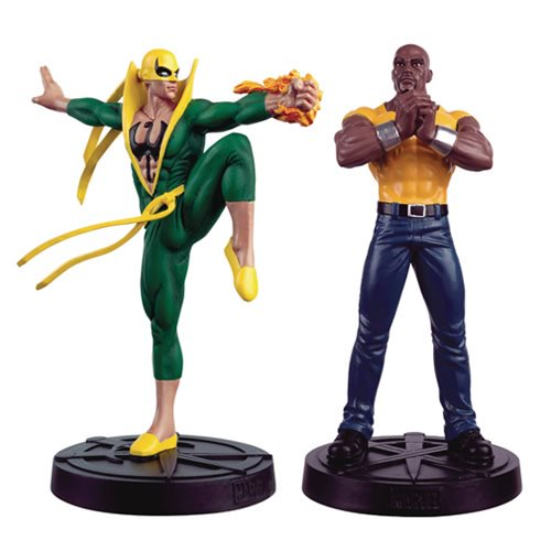 Marvel Fact Files Spec. #30 Heroes For Hire Statue Set & Mag - Official Eaglemoss Publications :: Mental XS Online