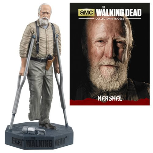 The Walking Dead Hershel Figure with Collector Magazine #15 - Official Eaglemoss Publications :: Mental XS Online