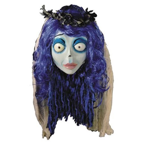 Corpse Bride Emily Deluxe Mask - Official Trick Or Treat Studios :: Mental XS Online