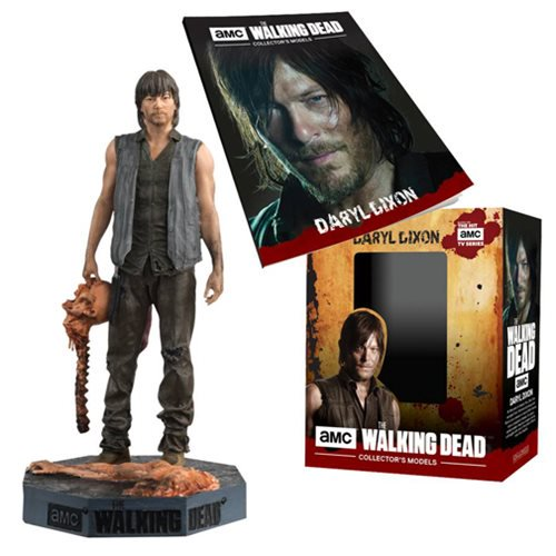 The Walking Dead Daryl Dixon with Bowling Ball Figure with Mag. - Official Eaglemoss Publications :: Mental XS Online