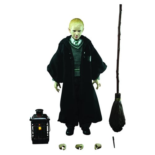 Harry Potter 1: The Sorcerer's Stone Draco Malfoy 1:6 Action Figure - Official Star Ace :: Mental XS Online